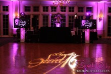 Sweet 16 name in lights Hurricane Productions