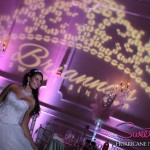 Customized Sweet 16 Name in Lights