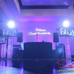 Hurricane Productions name in lights totem lighting Macaluso's