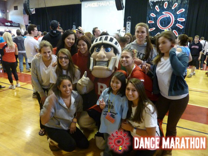 Rutgers dance Marathon the Kids