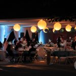 Wedding Pavilion at Night