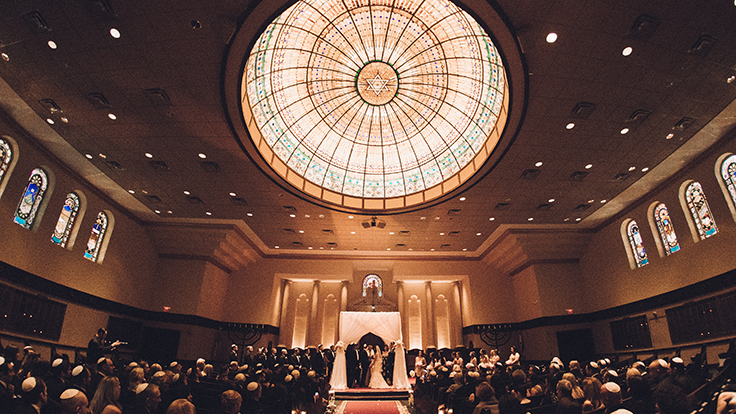 Temple Emanu-El Wedding