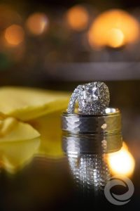 Macro Photo Wedding Rings