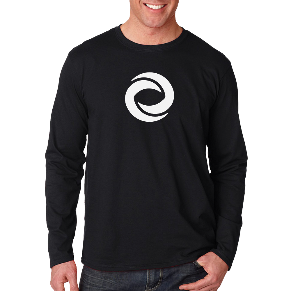 Long Sleeve Hurricane Productions Shirt Black