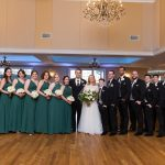 wedding party photography at bear brook valley