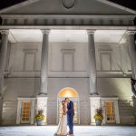 Perfectly Lit Wedding Nighttime Photography