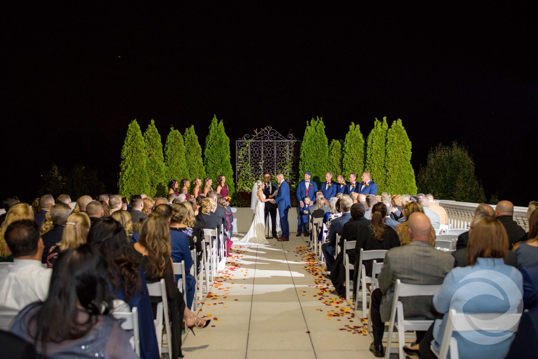 Nighttime Ceremony in Somerset, NJ