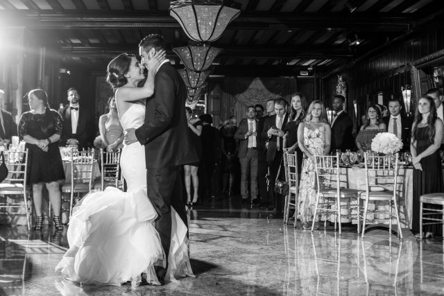 wedding timeline planning - couple's first dance