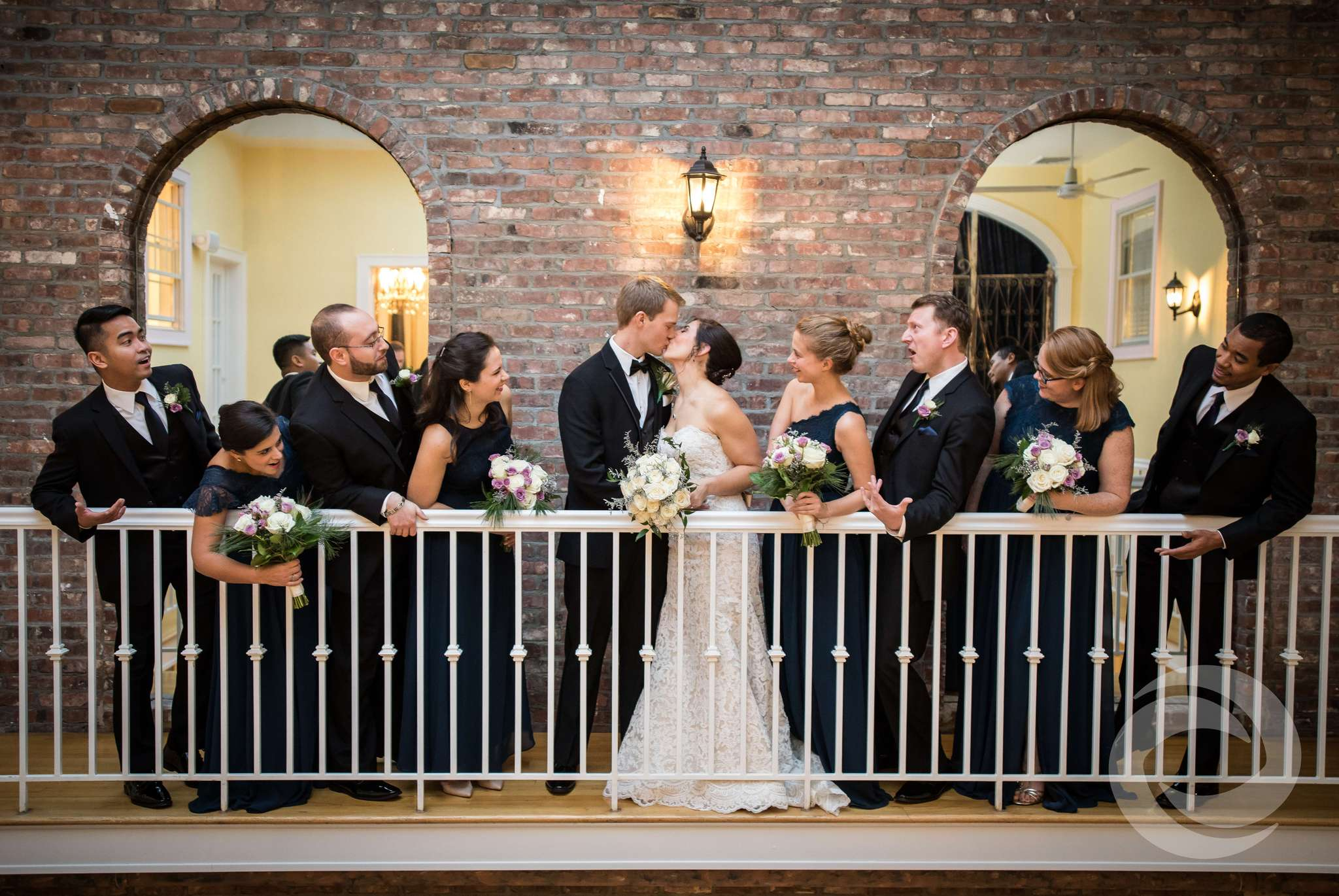 winter weddings in new jersey - james ward mansion wedding