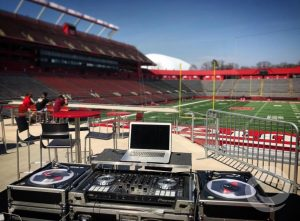 College Sports Event DJ