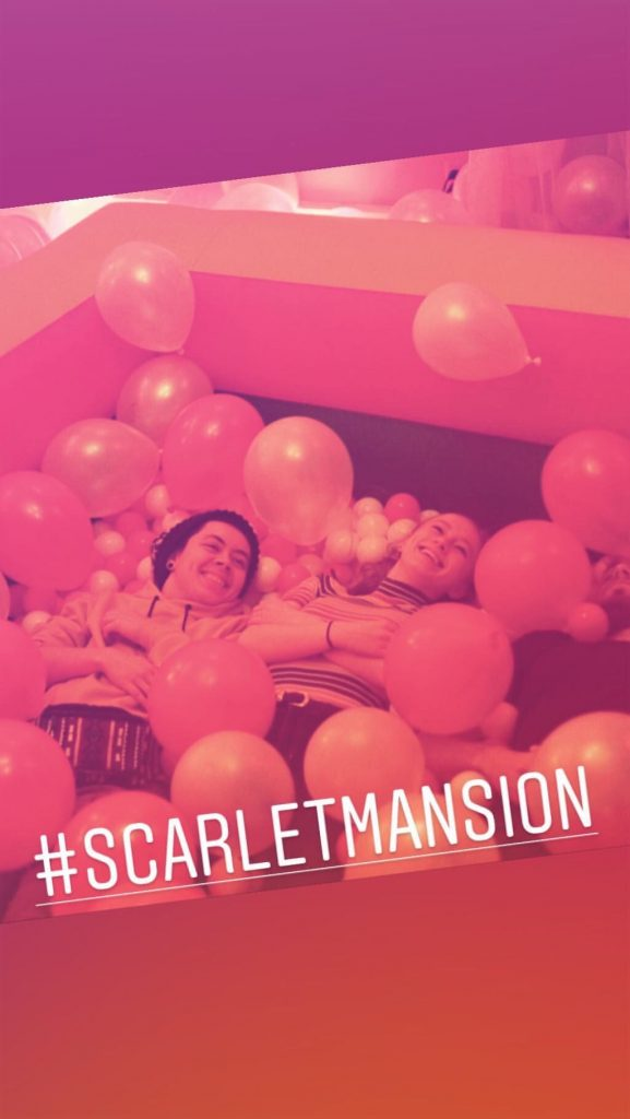 scarlet mansion ball pit room