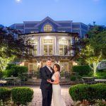 night photography olde mill inn wedding