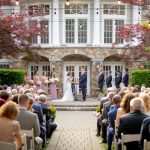 wedding ceremony olde mill inn wedding