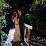 night photo wedding photography