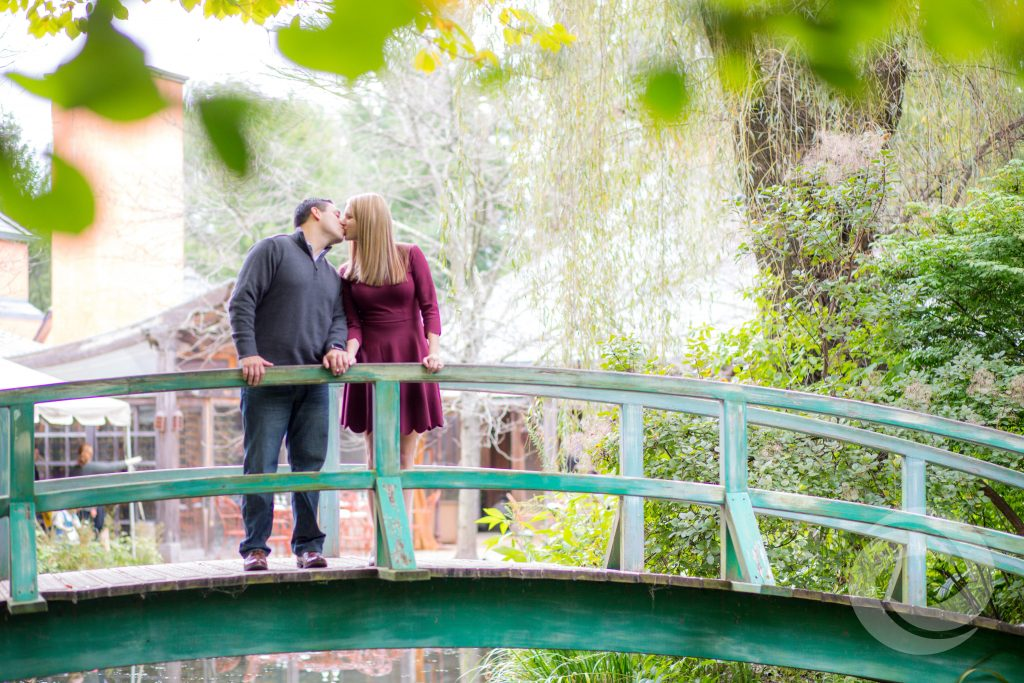 grounds for sculpture new jersey engagement shoot