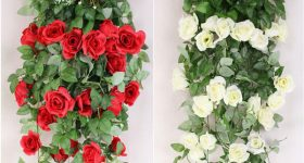Artificial Flowers for Living Hedge Wall Brand Activation