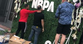 Living Wall Delivery and Setup Crew
