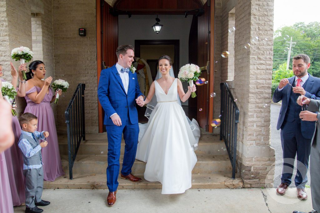 bride and groom married New Jersey