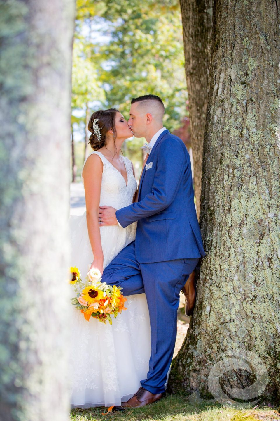 woodloch springs wedding photography bride groom