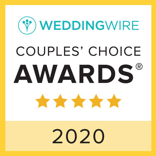 Wedding Wire Couple's Choice Award 2020