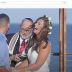 private youtube chat on livestreamed wedding ceremony