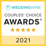 Wedding Wire Couple's Choice Award 2021